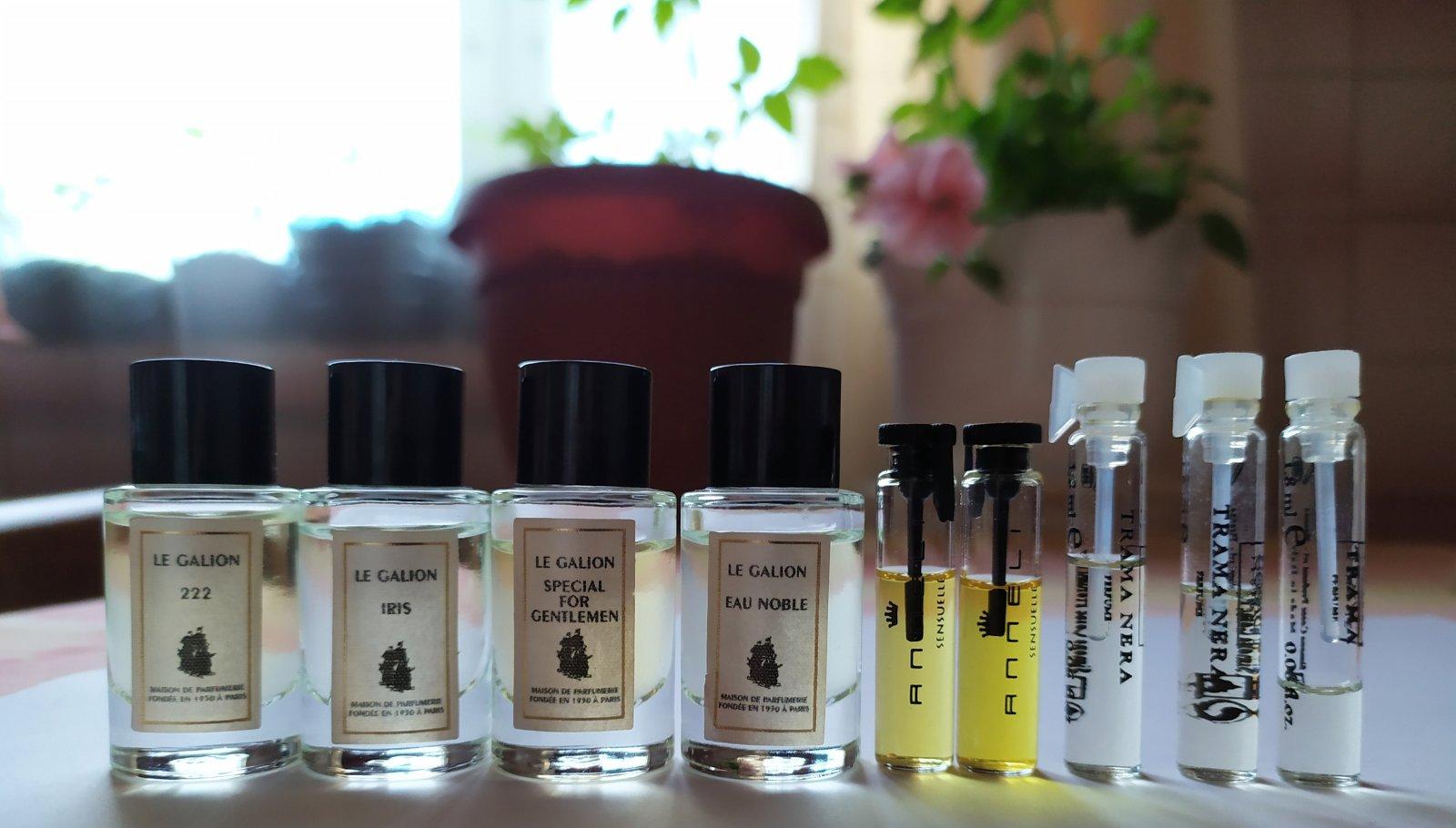 список парфюмерии